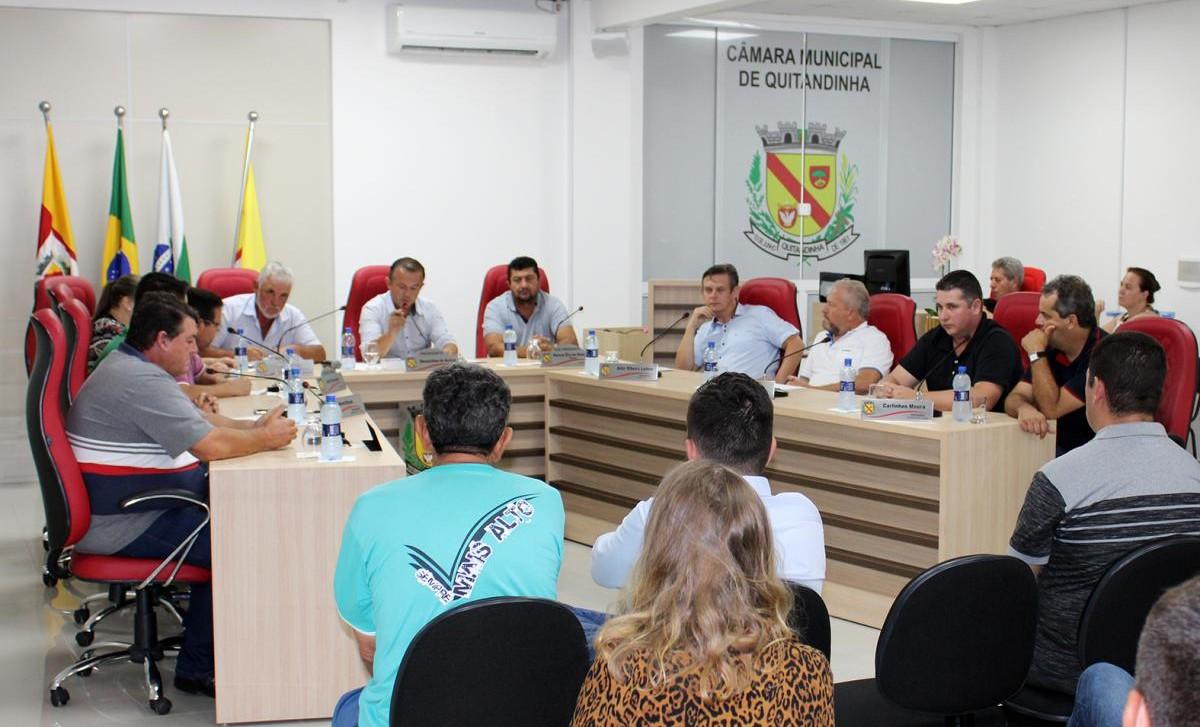 Câmara de Quitandinha fez a 1ª Sessão Ordinária de 2020