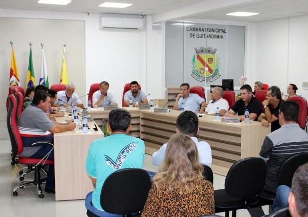 [Câmara de Quitandinha fez a 1ª Sessão Ordinária de 2020]