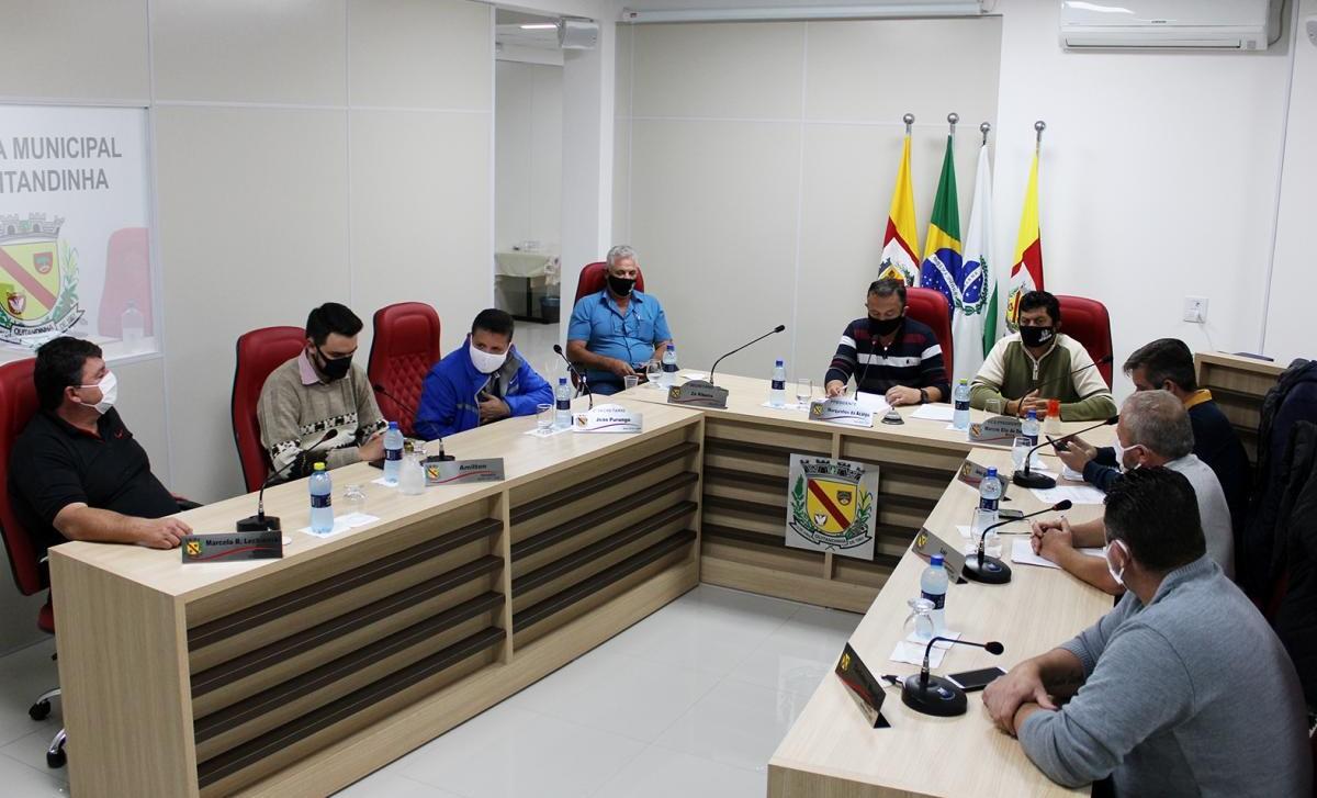 Câmara realizou a 12ª Sessão Ordinária