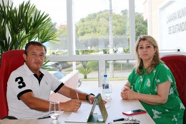 Vereador Marquinho da Acarpa discute ações contra o Coronavírus