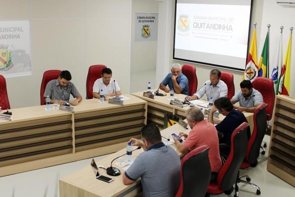 3ª Sessão Ordinária foi realizada na quarta (11)