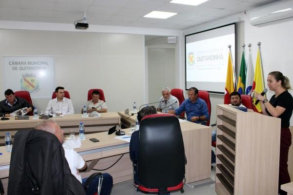 Vereadores se reúnem em Sessão Ordinária