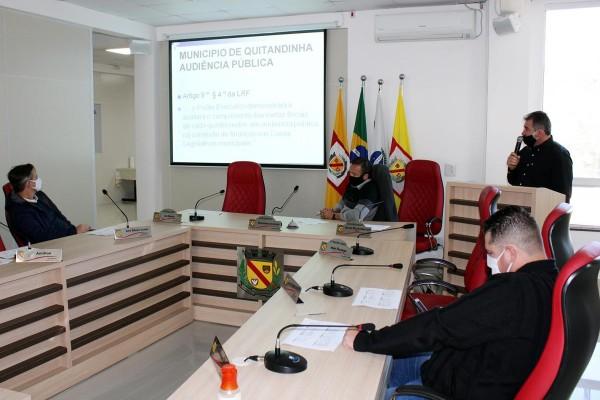 Prefeitura realiza Audiências Públicas na  Câmara de Vereadores de Quitandinha